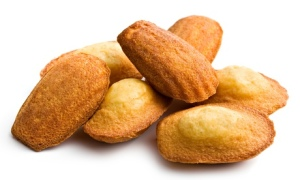 Madeleines like these are among Biscuiterie Jeannette's most-famous product lines.